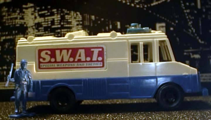 strombecker swat van 54mm scale