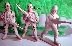 SAW gunner, M60 gunner, Rifleman